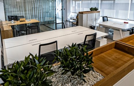 Diseño y planificación de espacios, obra y mobiliario de oficinas