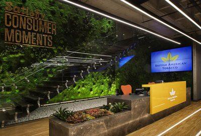 Le mostramos las increíbles oficinas British American Tobacco