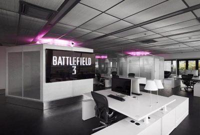 Electronic Arts Estocolmo y su diseño de oficinas futurista