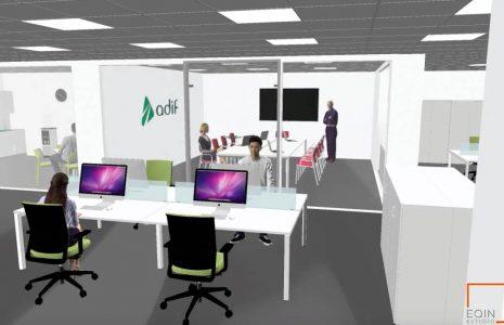 Conozca nuestro caso de éxito en las oficinas Adif