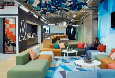 Descubra las nuevas oficinas de Adobe en Londres