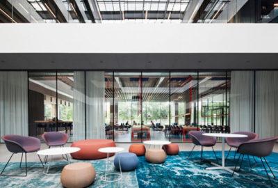 Descubra el nuevo diseño unificador para la sede de AEB en Alemania
