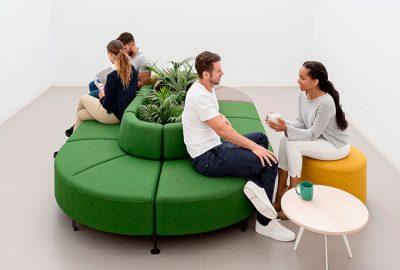 Mobiliario de oficina para espacios de trabajo funcionales