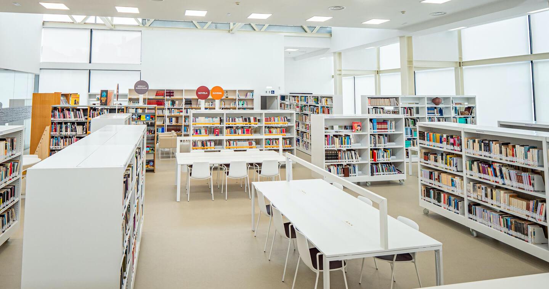 mobiliario biblioteca