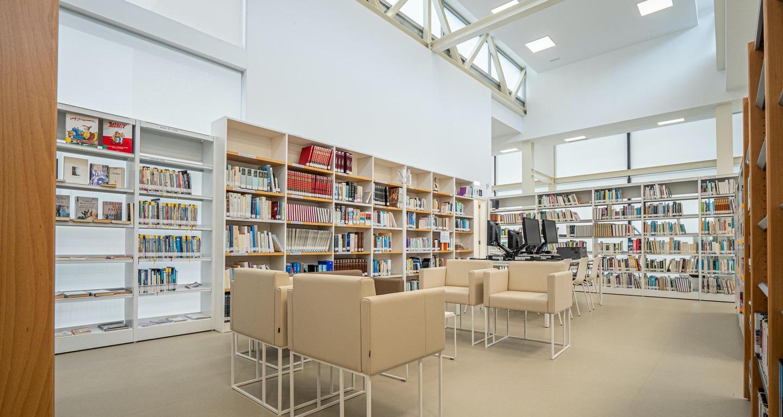 biblioteca de cambre