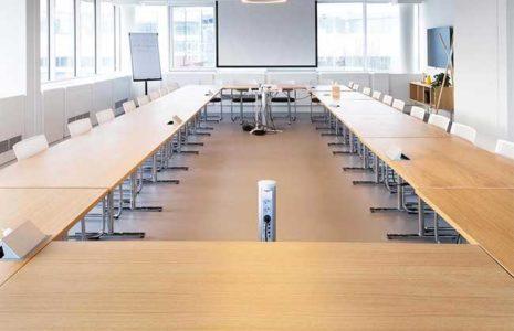 5 tipos de salas de reunión