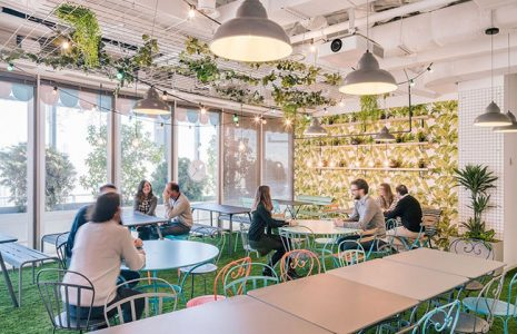 Ideas para la decoración de una cafetería en la  oficina