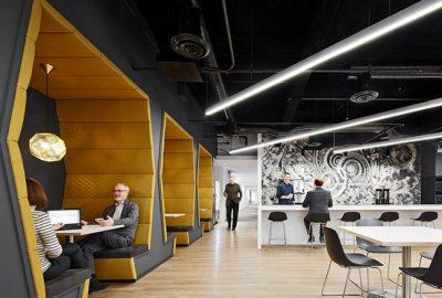 El nuevo diseño de la sede global de JLL certificado con LEED Platinum