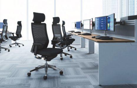 Silla de oficina Choral de Okamura, ergonomía para ti y estética para tu oficina