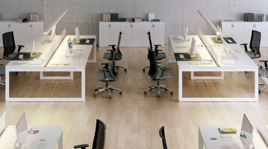 Climatización de oficinas