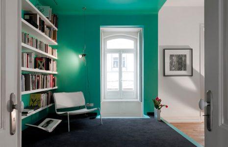 Oficinas creativas: Paredes con color para dar personalidad a su oficina