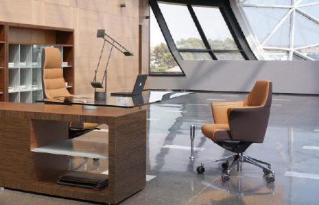 Muebles de oficina de dirección Prima Sinfonía: Vanguardismo minimal con carácter