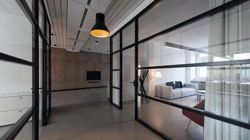 compartimentación de espacios oficinas