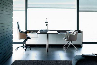 Piezas de mobiliario para equipar despachos de dirección
