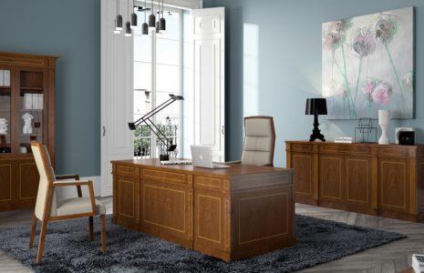 Muebles de oficina clásicos ideales para despachos de abogados