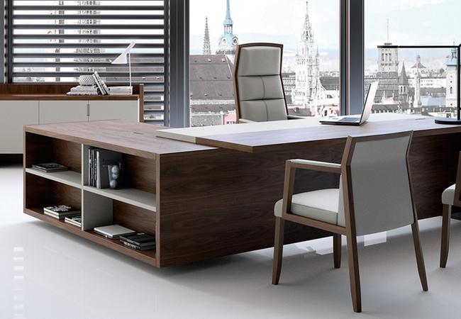 Los mejores muebles de oficina para despachos de direcci n for Mobiliario oficina diseno