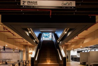 Descubra la instalación de la oficina de MSD en Praga