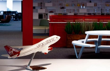 Descubra el diseño de las oficinas Virgin en Inglaterra