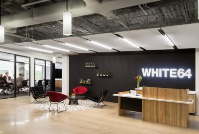 Conozca la reforma de oficina de la agencia WHITE64