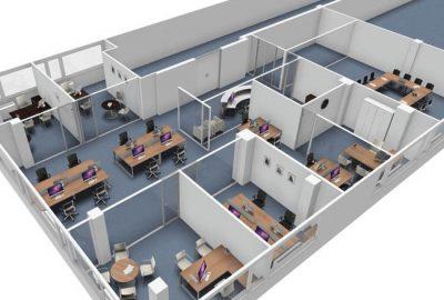 Reforma de oficina en Madrid para IFM World