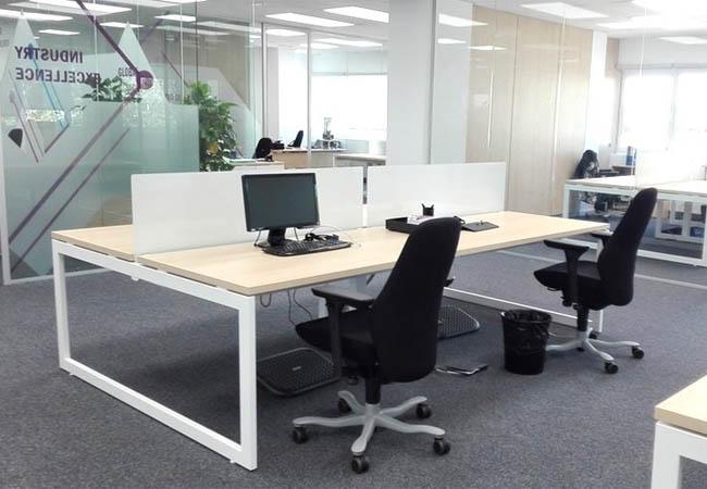 Reforma de oficina en madrid para ifm world equipamiento for Software diseno oficinas