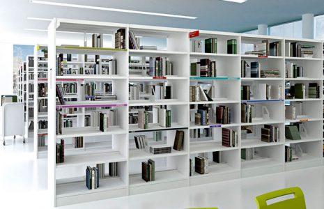 Estanterías para bibliotecas, ahora también en la oficina