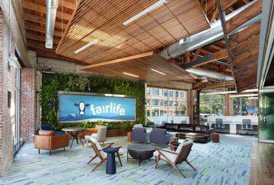 Descubra el increíble diseño de oficina de Fairlife