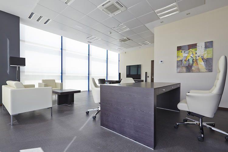 Elaboraci n del proyecto de decoraci n de las nuevas oficinas eqin estudio mobiliario y - Oficinas de atencion a la ciudadania linea madrid ...