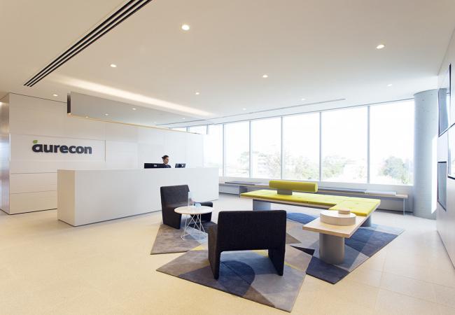 Iluminación de oficinas Aurecon