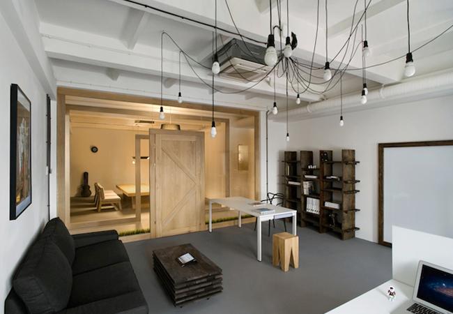 Reformar oficinas estilo industrial