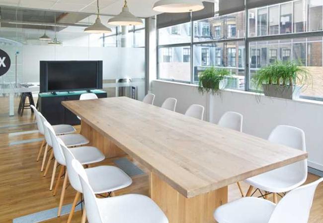 Oficinas estilo nórdico