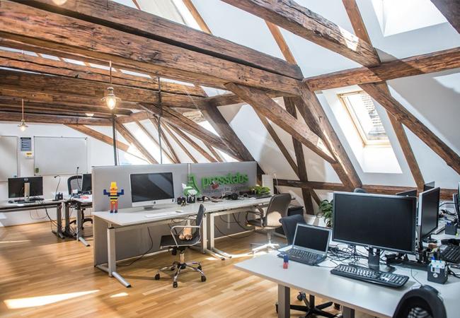 Iluminación de oficinas pequeñas