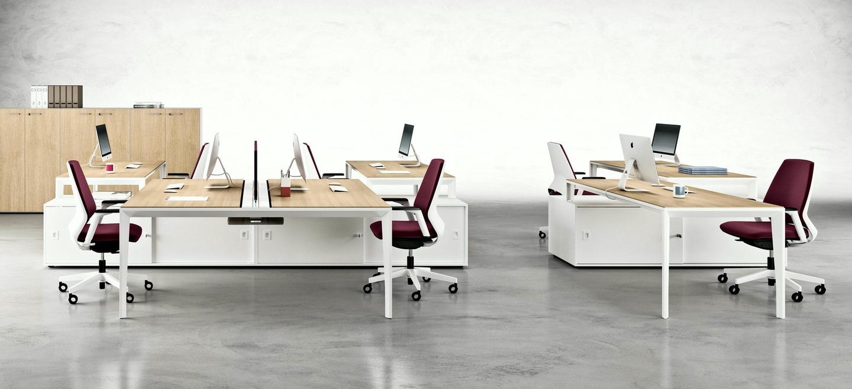 mesas de oficina puestos de trabajo X5