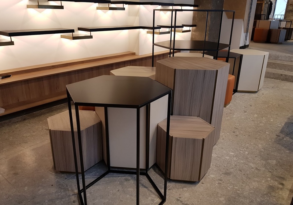 muebles a medida para tiendas de moda