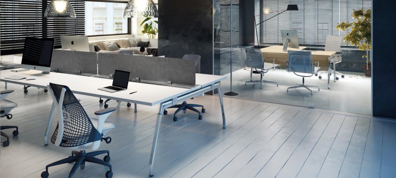 mesas operativas de oficina inspira