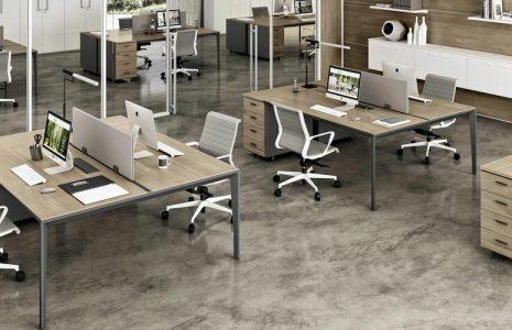 Mesas de oficina X5