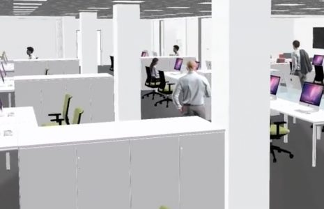 Reacondicionamiento de espacio y mobiliario de oficina