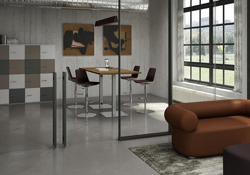 mesas de oficina altas greko
