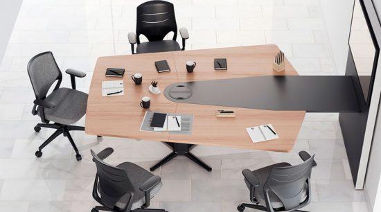 Mesa de reunión elevable Power