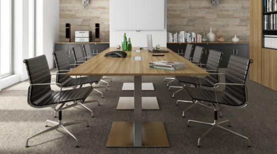 Mesa de reunión Quadrat