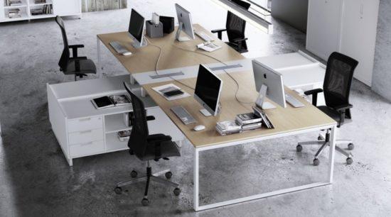 Mesa de oficina Operativa Adapta 2 Plus