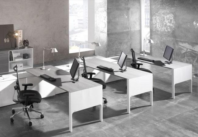 Muebles Blancos Para Tu Oficina Eqin Estudio Mobiliario Y Reformas