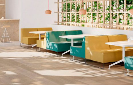 3 modelos de mobiliario para salas de espera