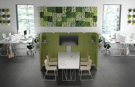 Algunos modelos de espacios colaborativos para su oficina