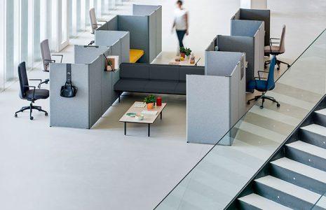 Estructura tu espacio de trabajo con separadores de oficina sin tabiques y paneles fonoabsorventes