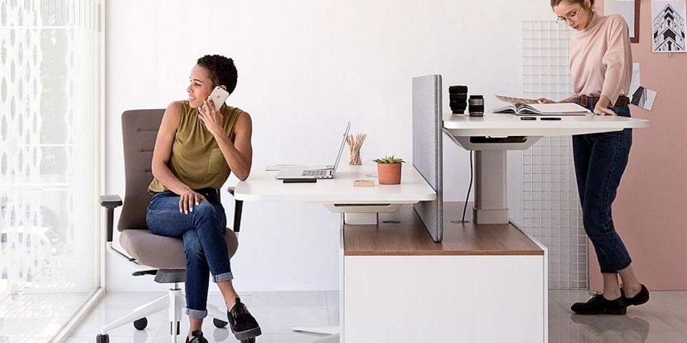 mesa elevable de trabajo power