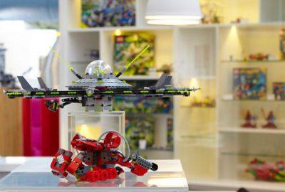 Las oficinas de LEGO construyen su mundo