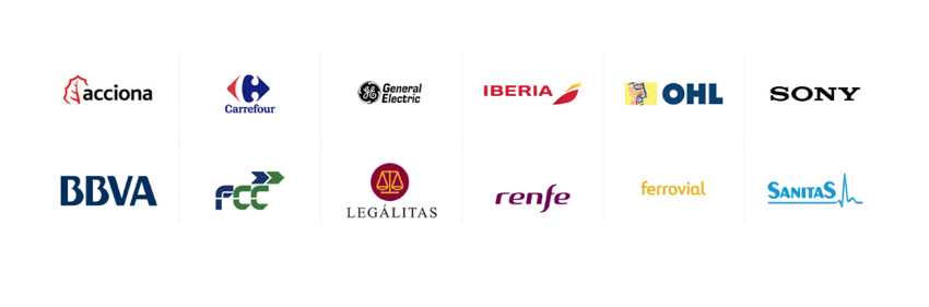 logos clinetes reformas de oficina