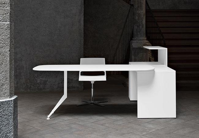 Mesas de oficina de color blanco para tu nuevo diseño de oficina ...