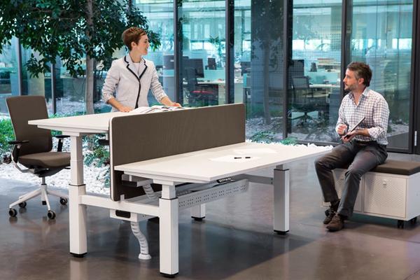 mesas de oficina para trabajar de pie